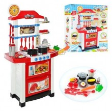 Детская кухня Bambi Super Cook 889-3 бело красная