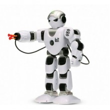 Робот на радиоуправлении с дистанционным пультом подсветкой стреляет присосками I2Modern К1 белый