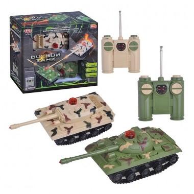 """Игровой набор """"Боевой танк"""" на радиоуправлении Play Smart  9672"""