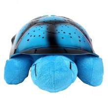 Музыкальный ночник-проектор Turtle Night Sky Blue