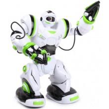 Робот на радиоуправлении Robowisdom 28091 AZ белый с зеленым