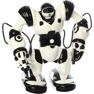 Робот на радиоуправлении Roboactor TT-313 бело-черный