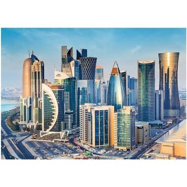 "Пазл Trefl 2000 элементов ""Доха, Катар"" 96*68см 27084"