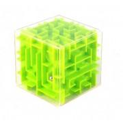 3D-головоломка Куб лабиринт зеленый