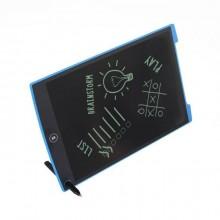 Планшет для рисования и заметок LCD Writing Tablet 12 дюймов черный с синим