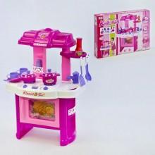 Детская  кухня игровой набор для девочки KITCHEN 008-26 розовый
