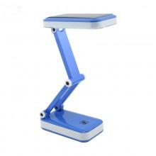 Настольная лампа светодиодная Zha Qingda YU-666 Blue синяя