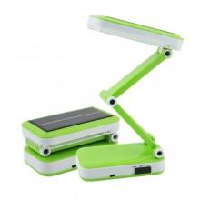 Настольная лампа светодиодная Zha Qingda YU-666 Green зеленая