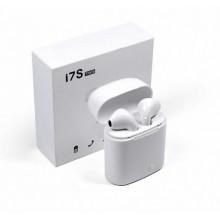 Беспроводные наушники Bluetooth в кейсе HBQ i7s TWS белые
