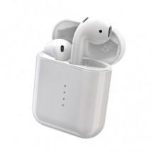 Беспроводные Bluetooth наушники гарнитура в кейсе HBQ iFans i10 TWS Stereo White