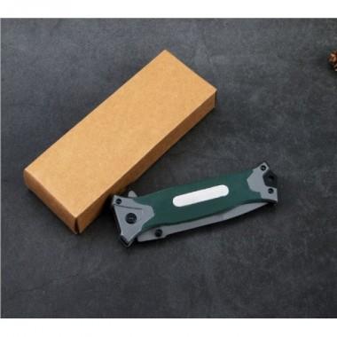 Выкидной нож B-16 темно-зеленый