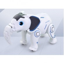 Слон Робот животное на радиоуправлении K17 белый