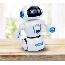Робот Airbot Smart на радиоуправлении KidBe 1036A танцует двигается по лабиринту