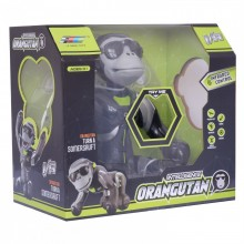 Робот-обезьяна на радиоуправлении Orangutan K12 черно-серая