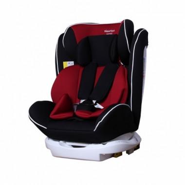 Автокресло carrello newton crl-13801 isofix группа 0+1+2+3 черно красное