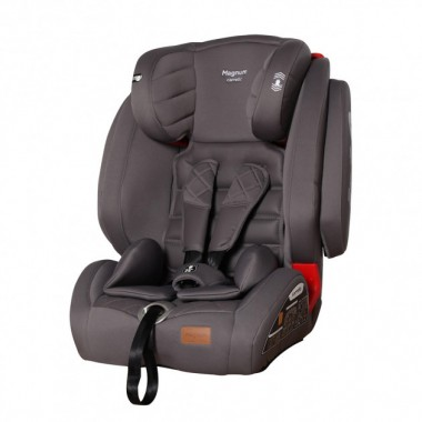 Автокресло carrello magnum crl-9802 isofix sps top tether группа 1+2+3 серое