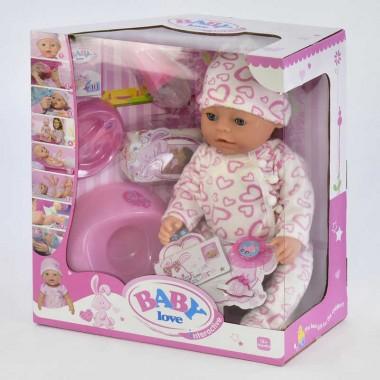 Пупс функциональный кукла игрушка BL023K 8 функций с аксессуарами