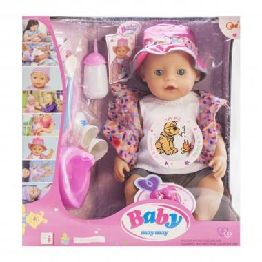 Пупс кукла функциональный 42 см Baby 916-C пьет писает плачет