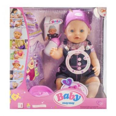 Пупс кукла функциональный 42 см Baby 916-B пьет писает плачет