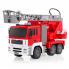 Радиоуправляемая пожарная машина A-Toys E567-003 свет звук распыление воды